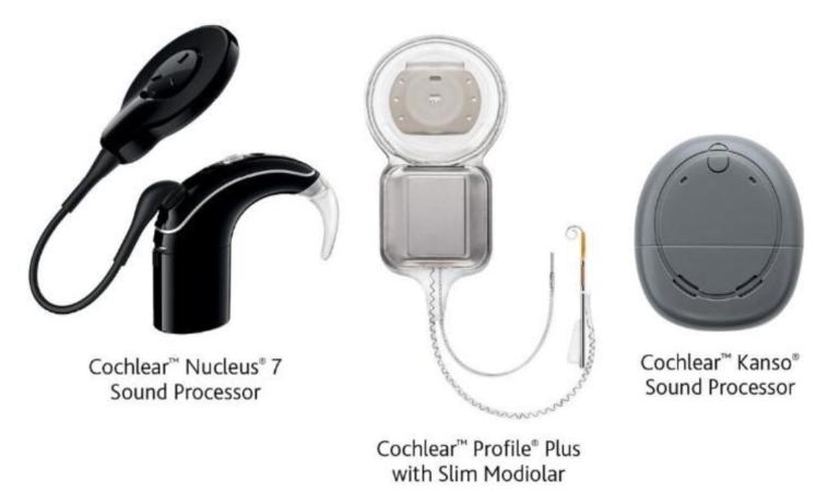 Procesadores e implante coclear