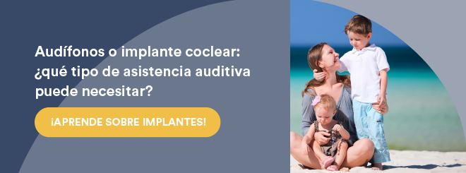 Audifonos o implantes cocleares