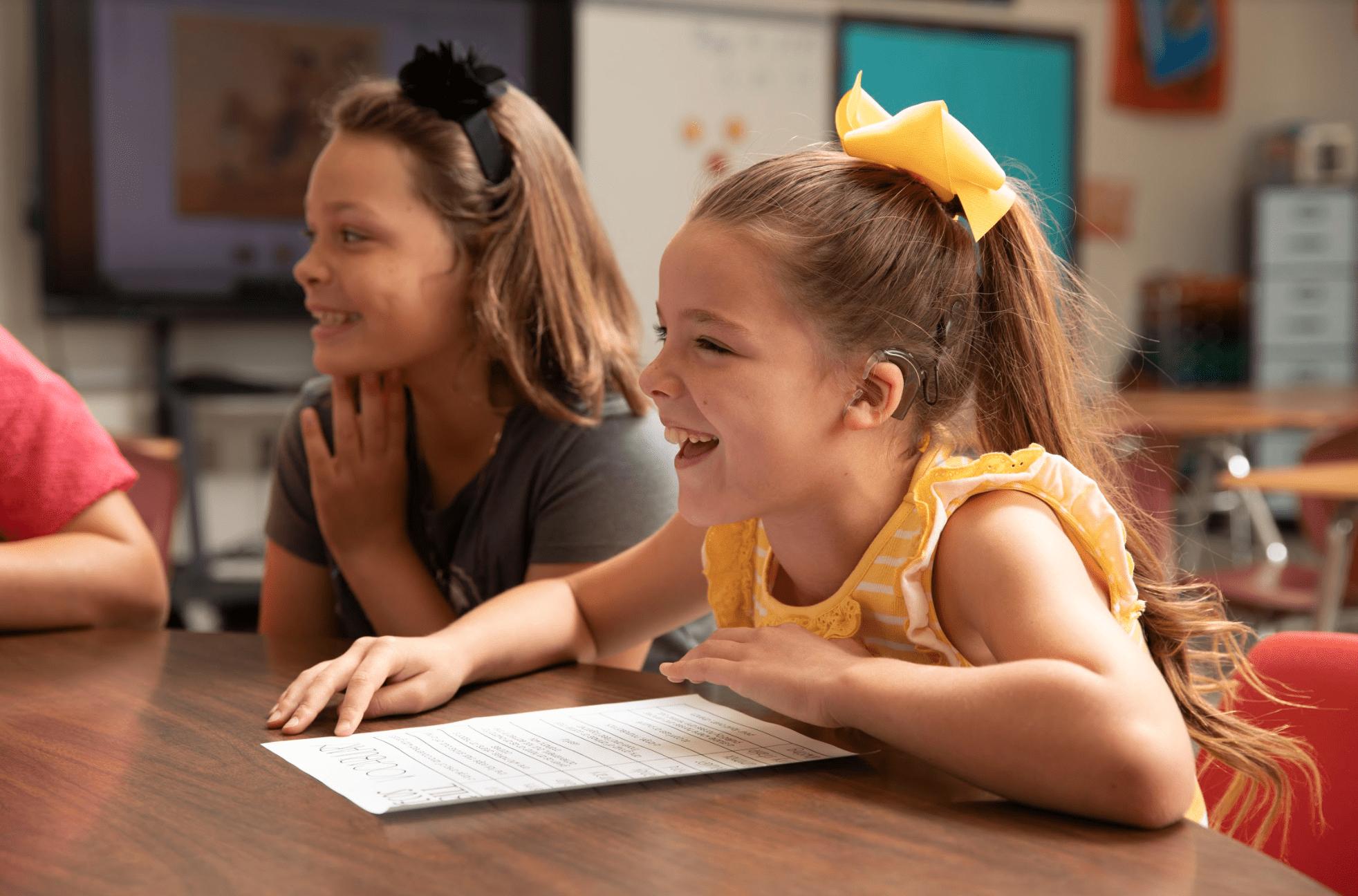 Discapacidad auditiva en niños